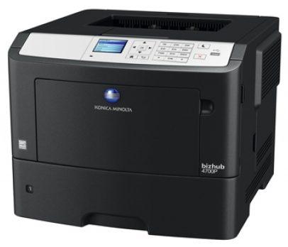 bizhub 4700p A4 Mono Printer