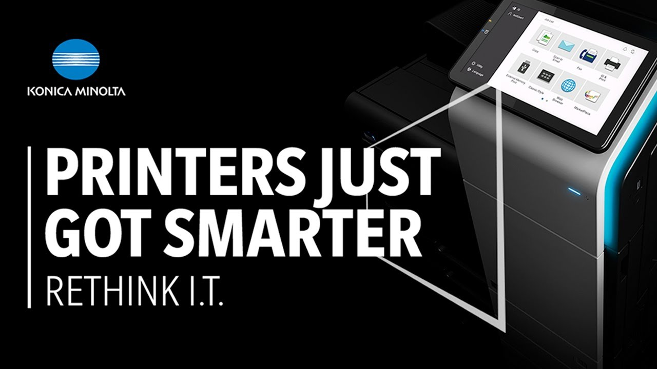 Printers just got smarter with the New I-Series range.